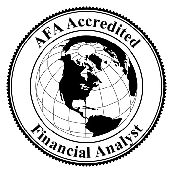 Accredited Financial Analyst AFA Managment Consulting Certification ...